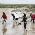 team building nature traversée de la Baie de Somme