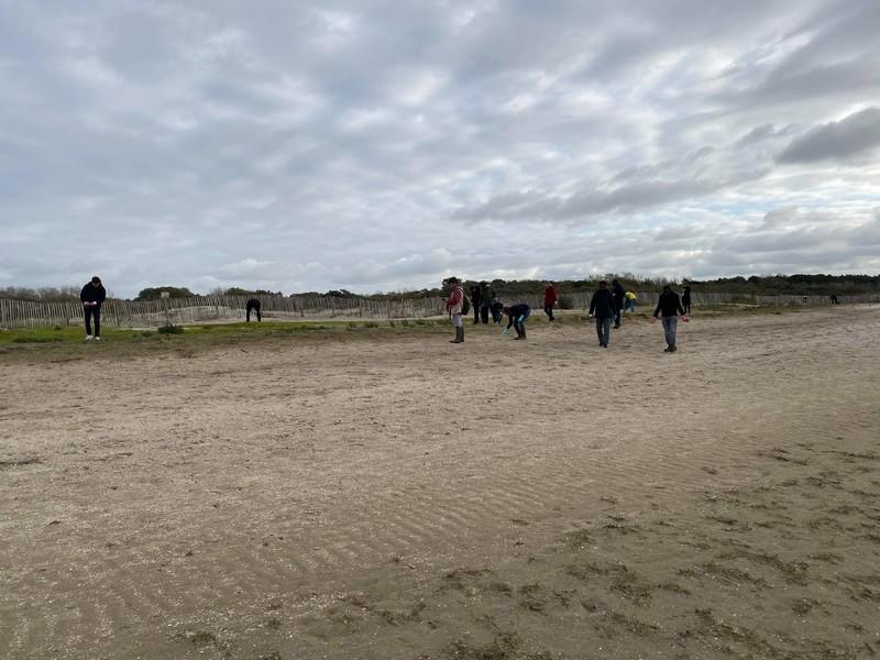 Team building écocitoyen dans la Baie de Somme