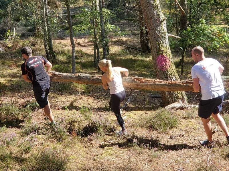 Team building solidaire dans la forêt de Rambouillet