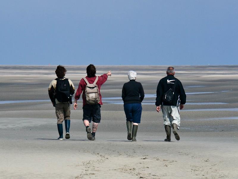 Team building traversée de la Baie de Somme
