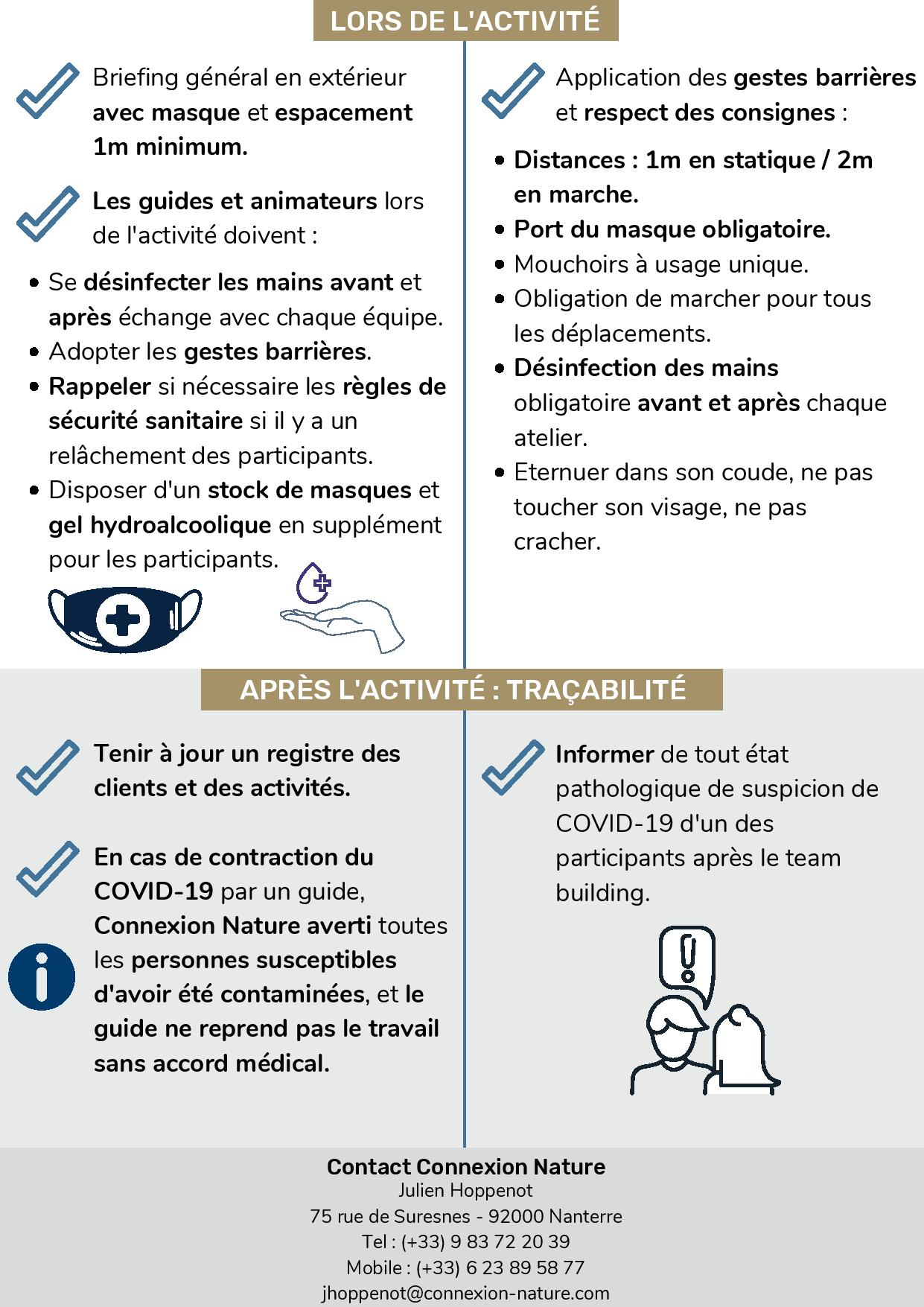 Charte team building COVID-19 page 2